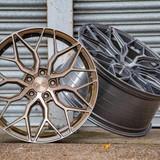 "23"" Riviera RF108 Alloy Wheels Gloss Black"