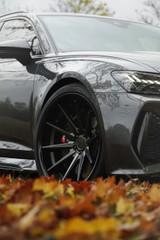 "22"" Ferrada FR4 Alloy Wheels Matte Black Gloss Black Lip"
