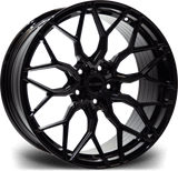 "23"" Riviera RF108 Alloy Wheels Gloss Black Finish"