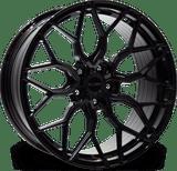 "23"" Riviera RF108 Alloy Wheels Gloss Black Finish"