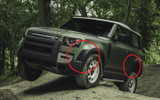 Land Rover Defender 90 2020> Chequer Plate Protection