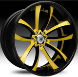 Asanti Alloy Wheels CX-503 24""
