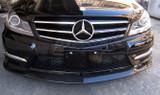 Mercedes Benz C Class W204 Carbon Fibre Front Lip