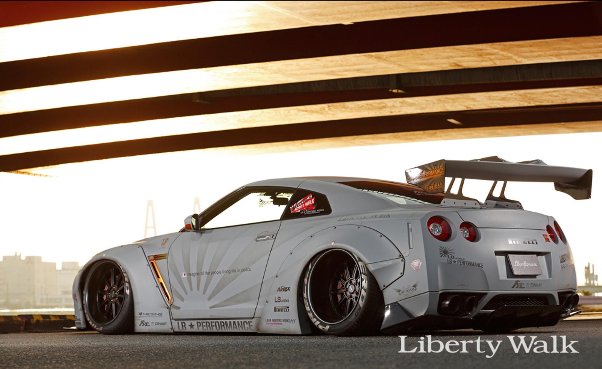 Nissan Skyline R35 Gtr Liberty Walk Body Kit Ver 2 Meduza Design Ltd