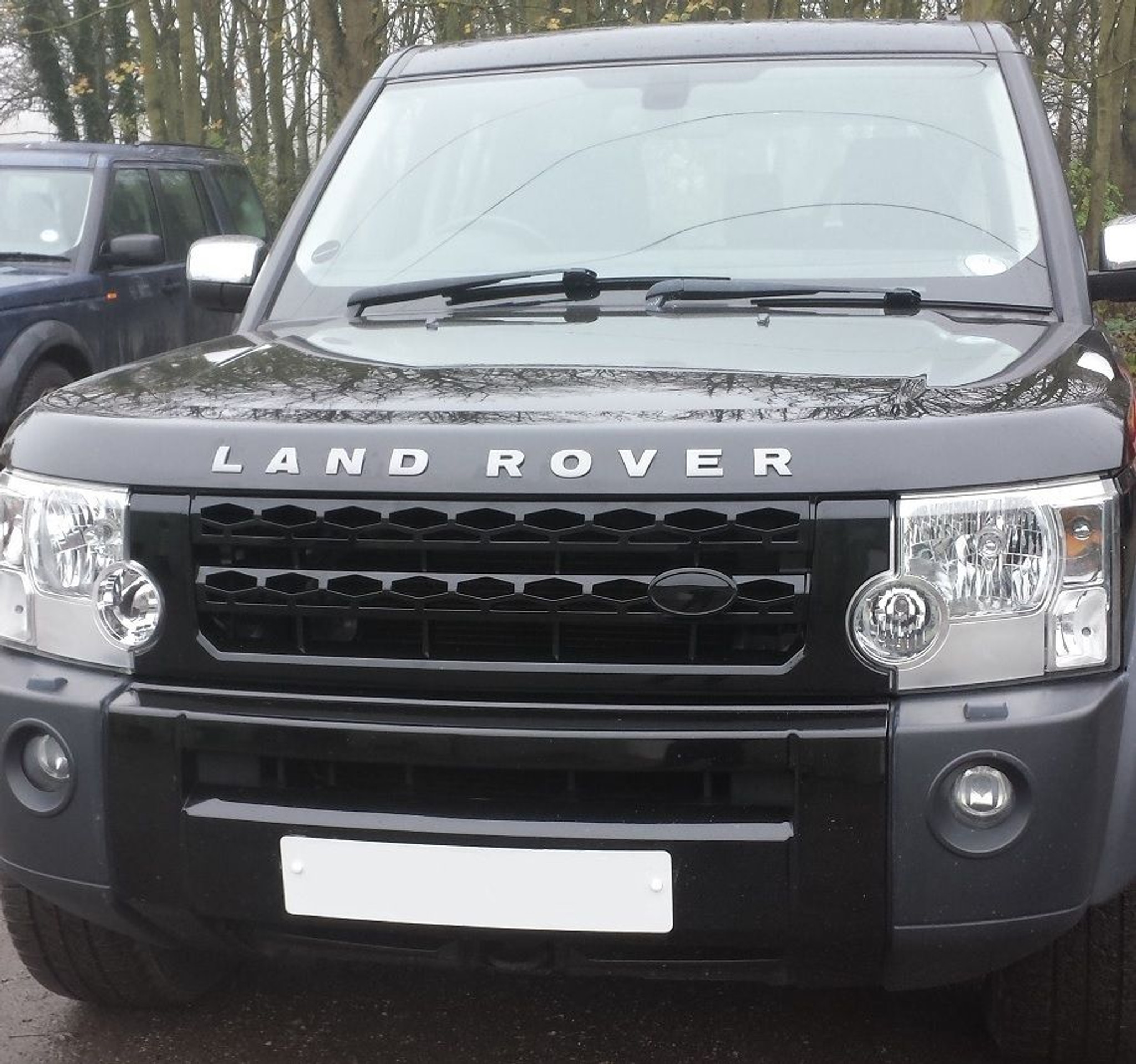 Land Rover Discovery 3 Front Grille To Discovery 4
