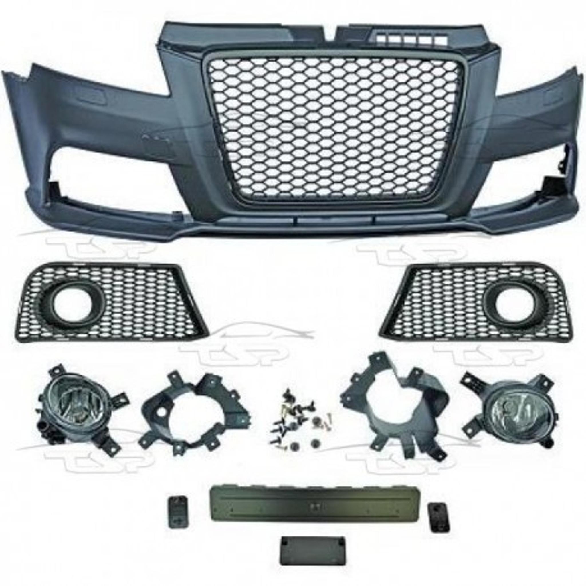 Audi A3 8P 08-12 RS3 Look Front Bumper Bodykit