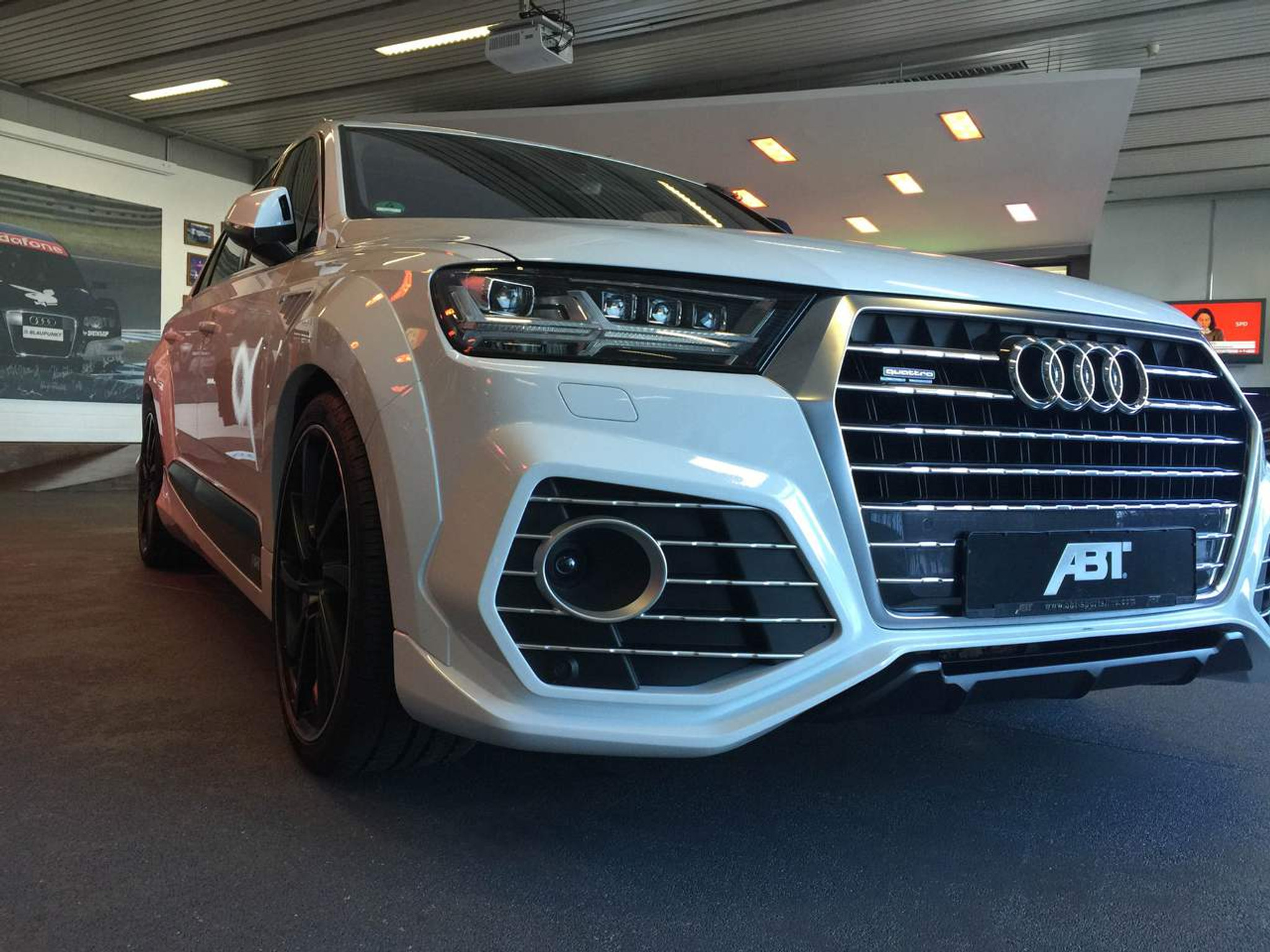 Audi Sq7 2016 Abt Wide Body Kit Meduza Design Ltd