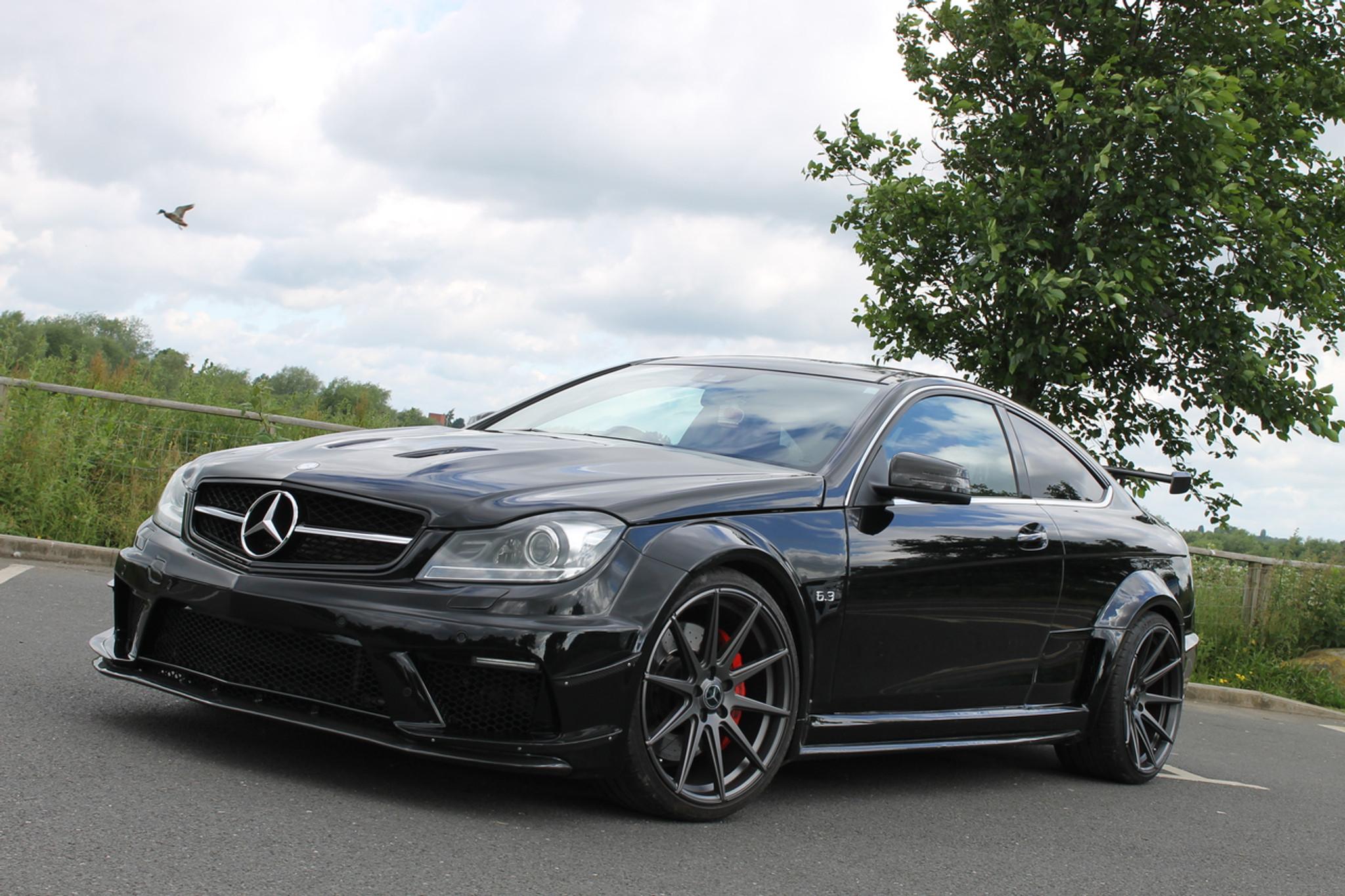 Mercedes Benz Coupe C63 Amg Black Series Conversion Meduza Design Ltd