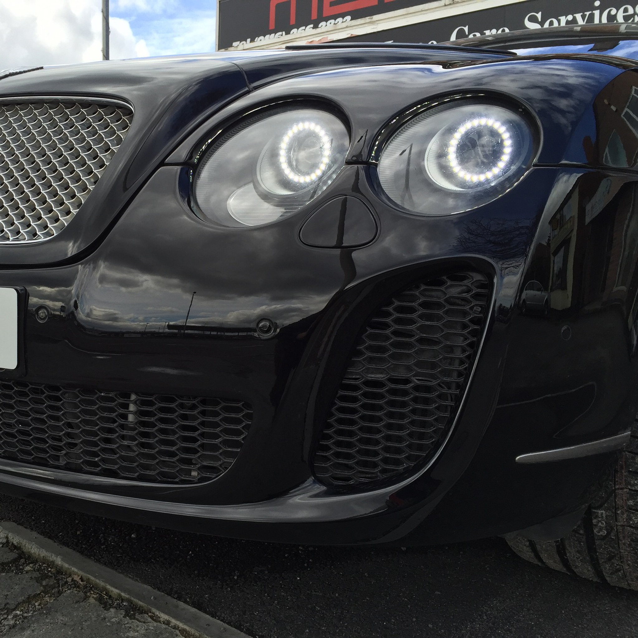Bentley Continental Gt Gtc Headlight Upgrade To 2013 Spec Led
