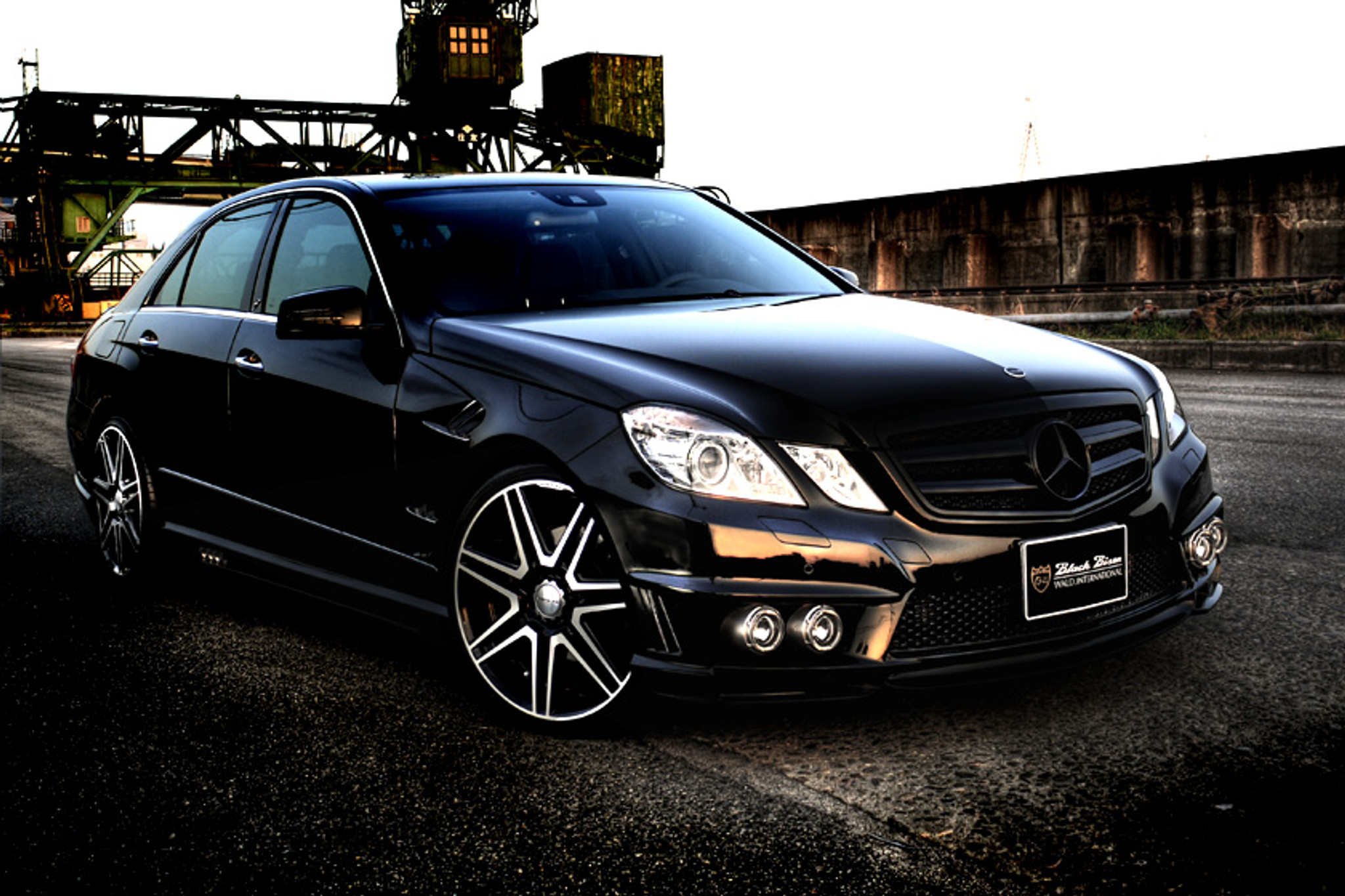Mercedes E-Class W212 Sports Line Black Bison Edition Wald International Body Kit - Meduza ...