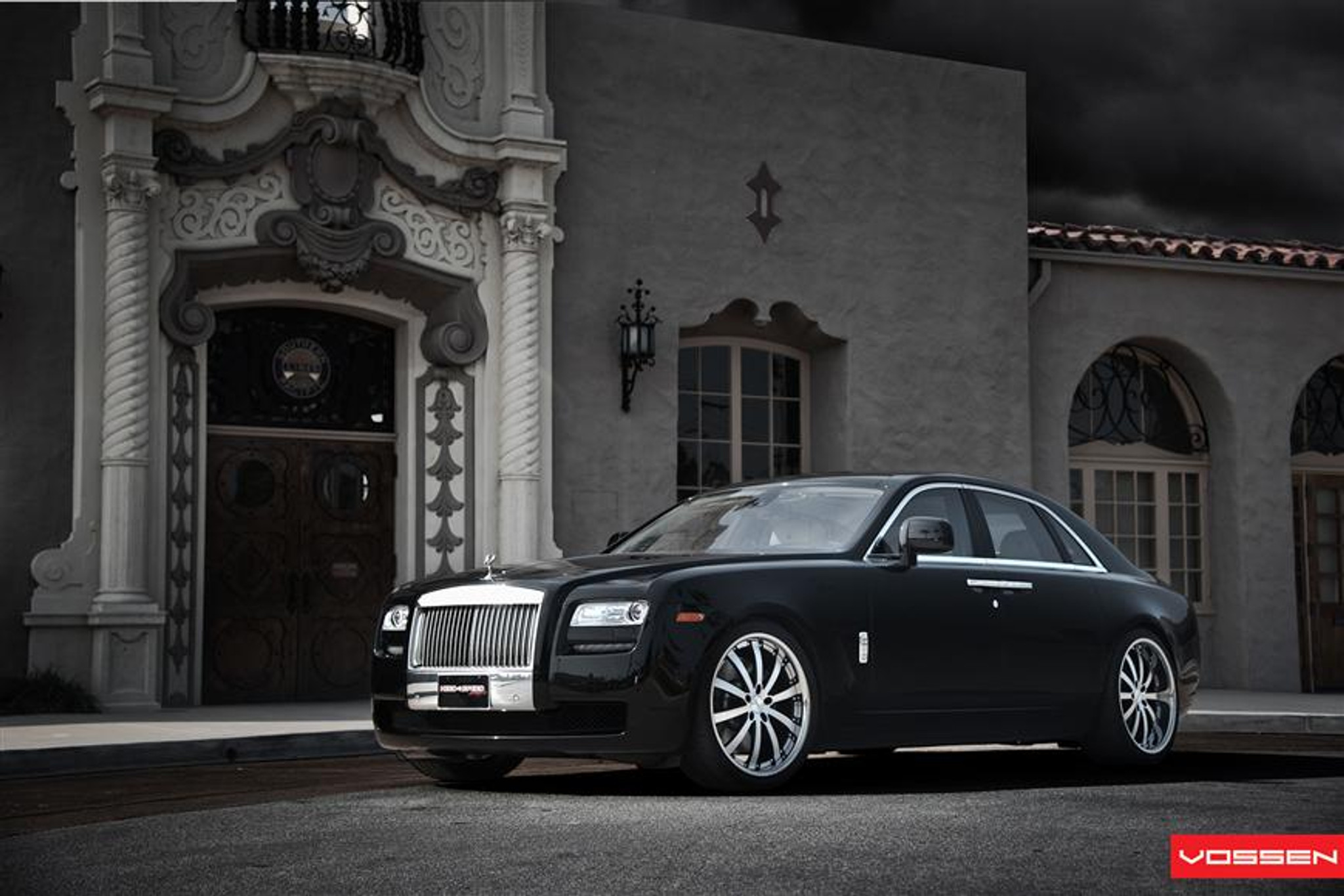 "22"" Vossen VVS-083 Alloy Wheels & Tyres Rolls Royce Ghost ..."