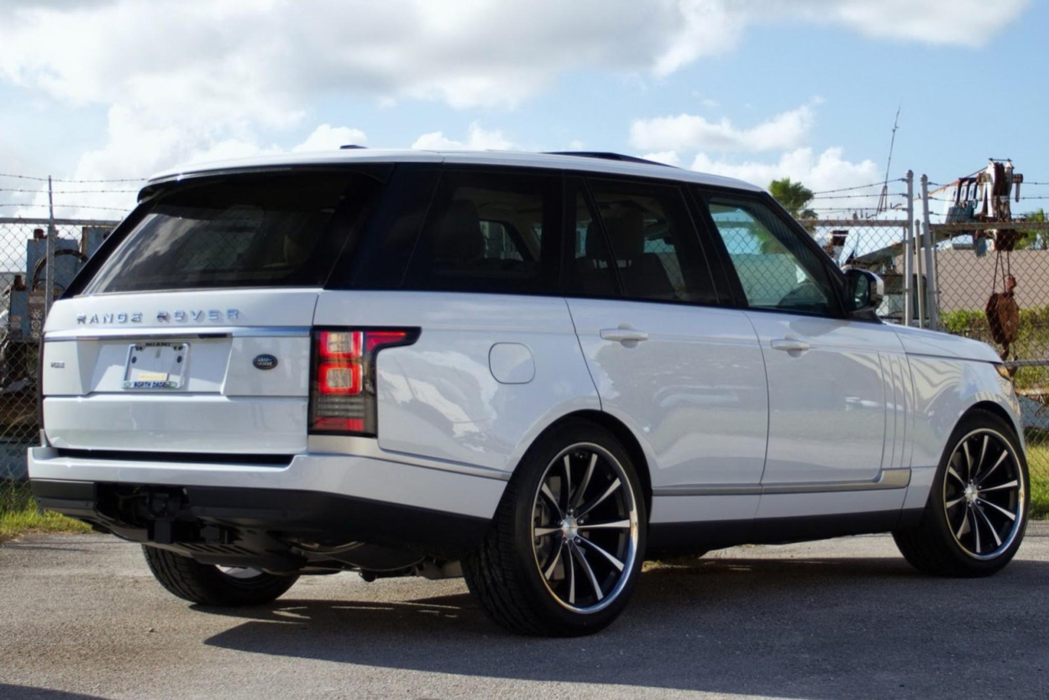 Range Rover Vogue L405 Rear Lamps - Meduza Design Ltd