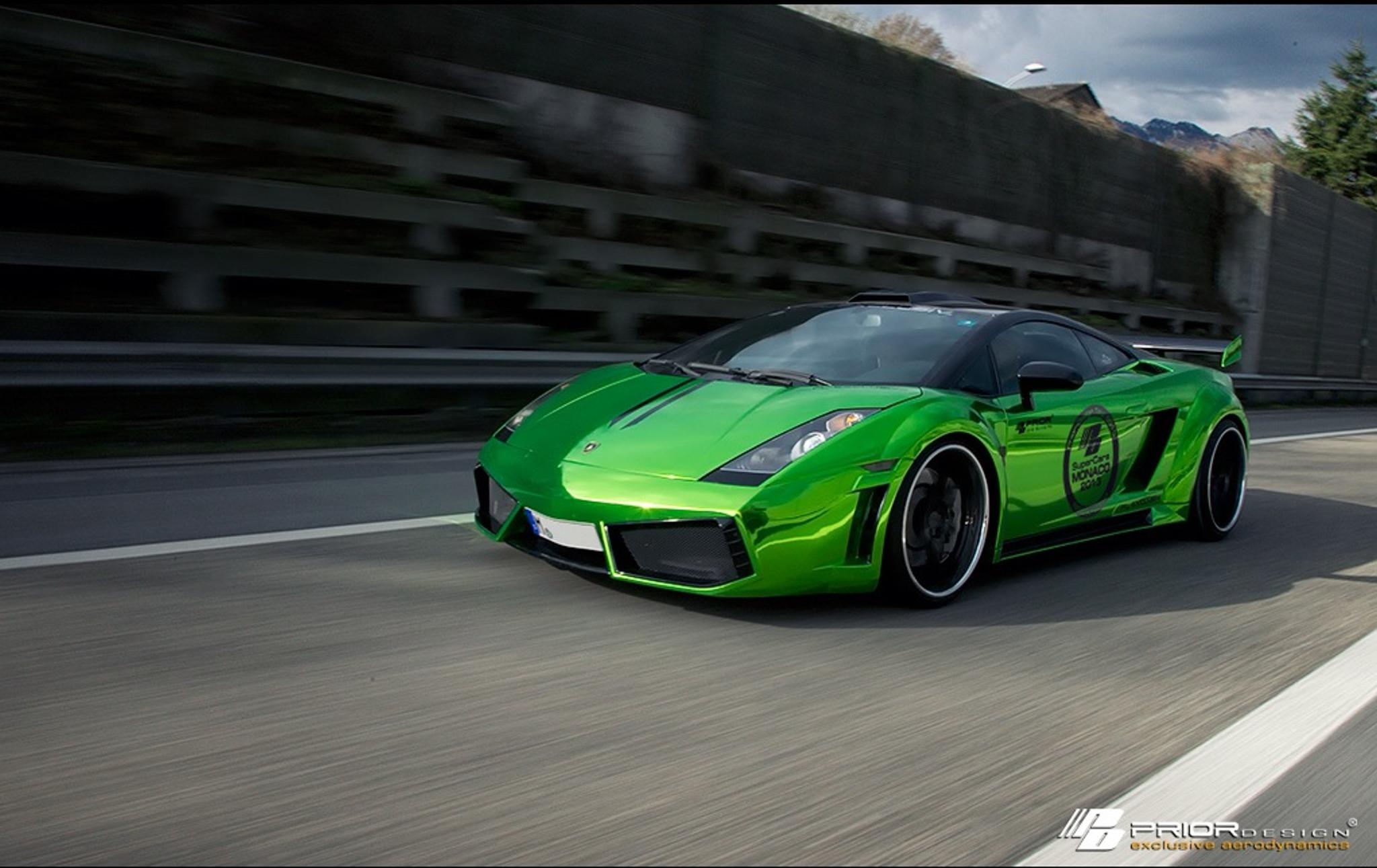 Lamborghini Gallardo Prior Design Pd L800 Wide Body Kit Meduza