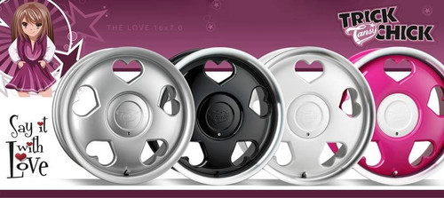 "16"" Tansy Love Alloy Wheels-Various Colours available"