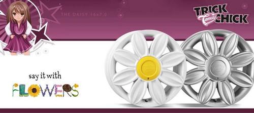 "16"" Tansy Daisy Alloy Wheels-Various Colours available"