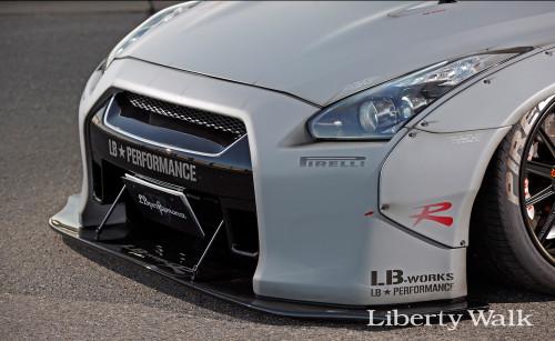 Nissan Skyline R35 GTR Liberty Walk Body Kit Ver.2