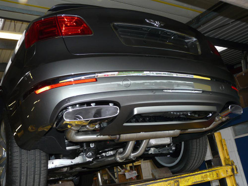 Bentley Bentayga QuickSilver Sport Exhaust System (2016 on)