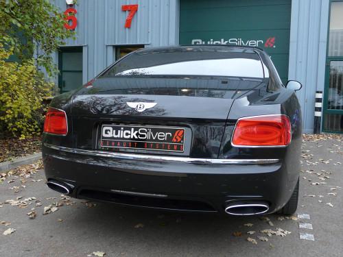 Bentley Flying Spur W12 V8 QuickSilver Sport Exhaust (2013 on)