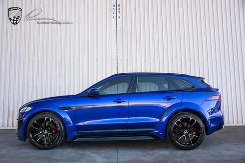 Jaguar F Pace Lumma Design CLR-F Body Kit BLUE