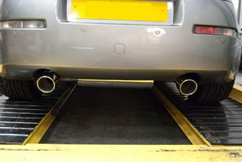 Nissan 350Z Y-Pipe Back Exhaust System K2