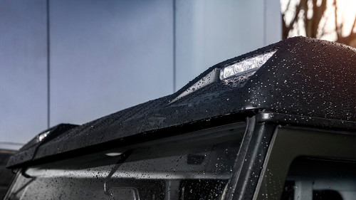 Chelsea Truck Co. Land Rover Defender 90+110 Roof Shield With LED Lights