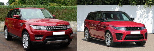 Range Rover Sport Facelift Conversion 2013 > 2018
