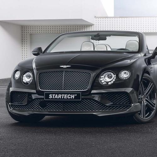Startech Bentley Continental GT Carbon Front Skirt add on