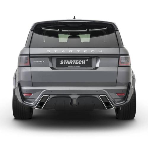 Range Rover Sport 2018 Startech Rear Bumper & Muffler Tips