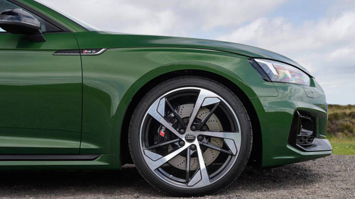 "20"" Audi RS5 Style 2018 Black Polished Alloy Wheels"