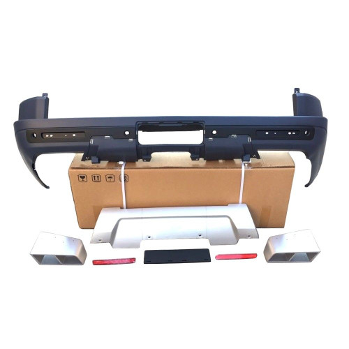 Land Rover Discovery 3 & 4 S Rear Bumper with Tips