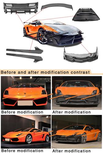 Lamborghini Gallardo LP700 Style Body Kit