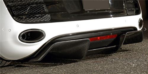 Audi R8 Carbon Fiber Diffuser