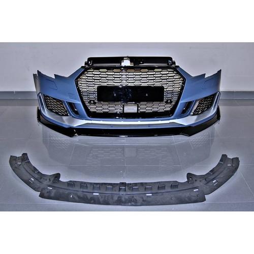 Audi RS3 Style Front Bumper 2016> Hatchback / Sedan