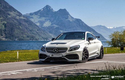 Mercedes C Class Coupe W205 PD65CC Wide Body Kit