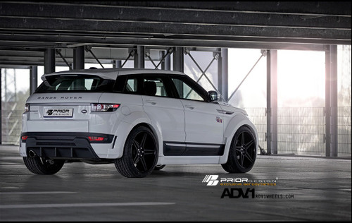 Prior Design Range Rover Evoque PD650 Widebody Aerodynamic Bodykit