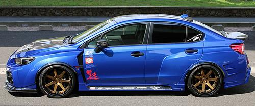 Subaru Impreza Hawke WRX STI Charge Speed Style Body Kit