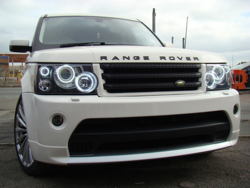 Range Rover Sport Headlight Conversion to LED Lighting