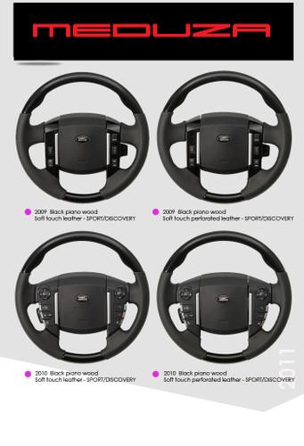 Range Rover Sport / Discovery Steering Wheel Upgrade
