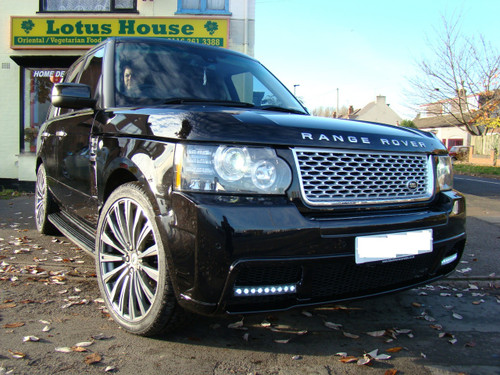 Range Rover Vogue L322 Facelift Meduza RS Body Kit-Black