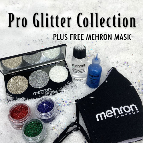 Pro Plitter Collection和Mehron Mask