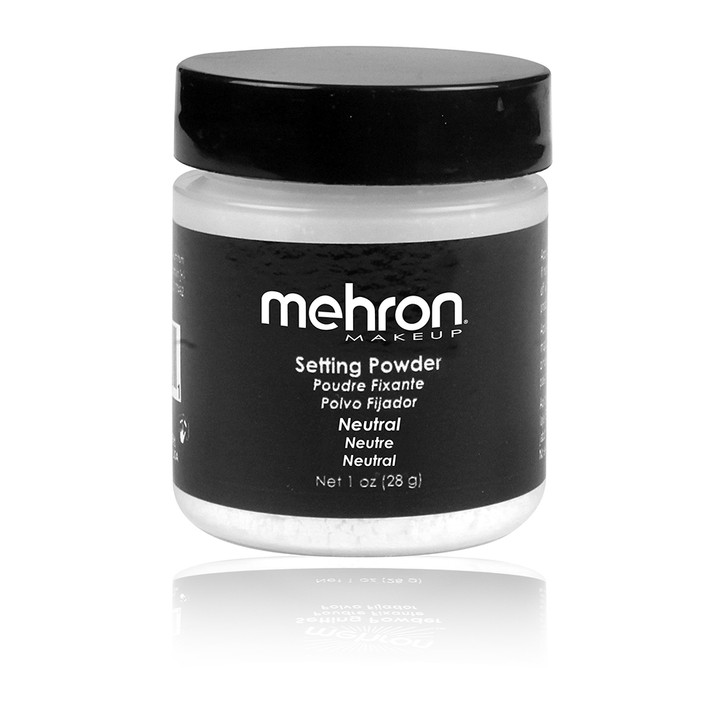 Mehron Setting Powder in translucent