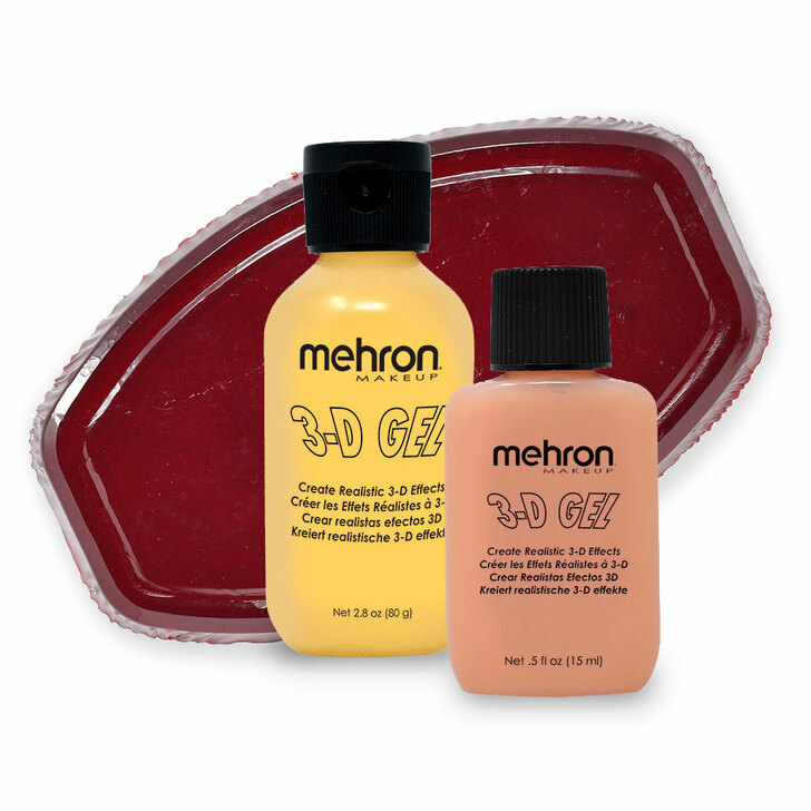 Mehron 3D Gel group shot