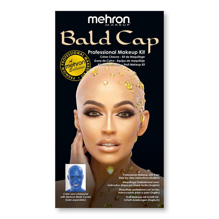Bald Cap - Premium Character Makeup Kit