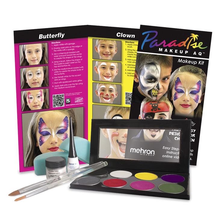 Paradise Face Painting - Premium Makeup Kit