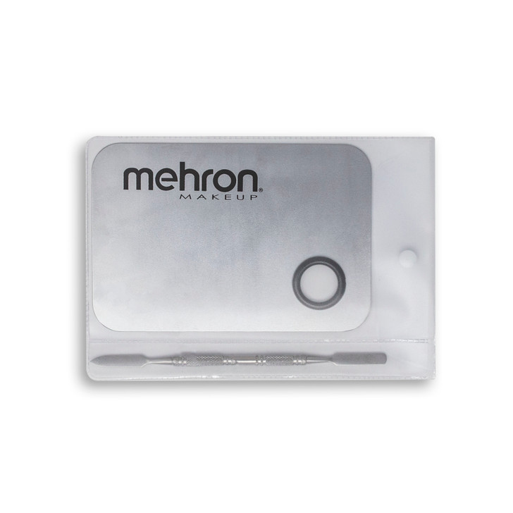 Mehron Mixing palette and spatula