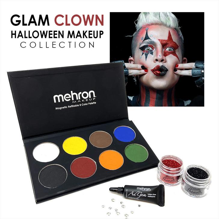 Glam Clown Halloween Makeup Collection
