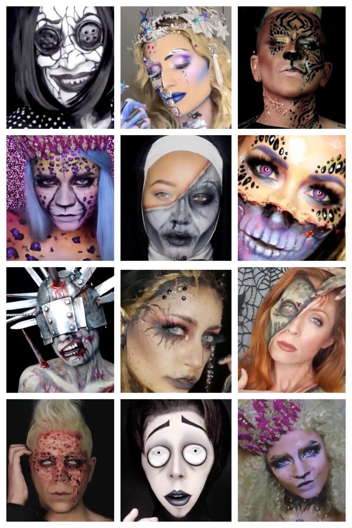 Last Minute Halloween Makeup Looks Mehron