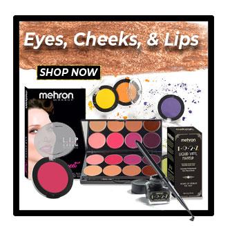 Mehron Sale item for Eyes, Cheeks, Lips