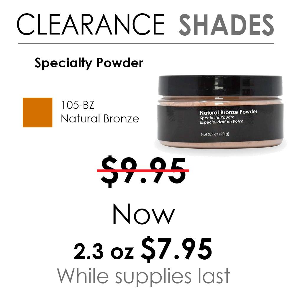 Natural Bronze Specialty Powder