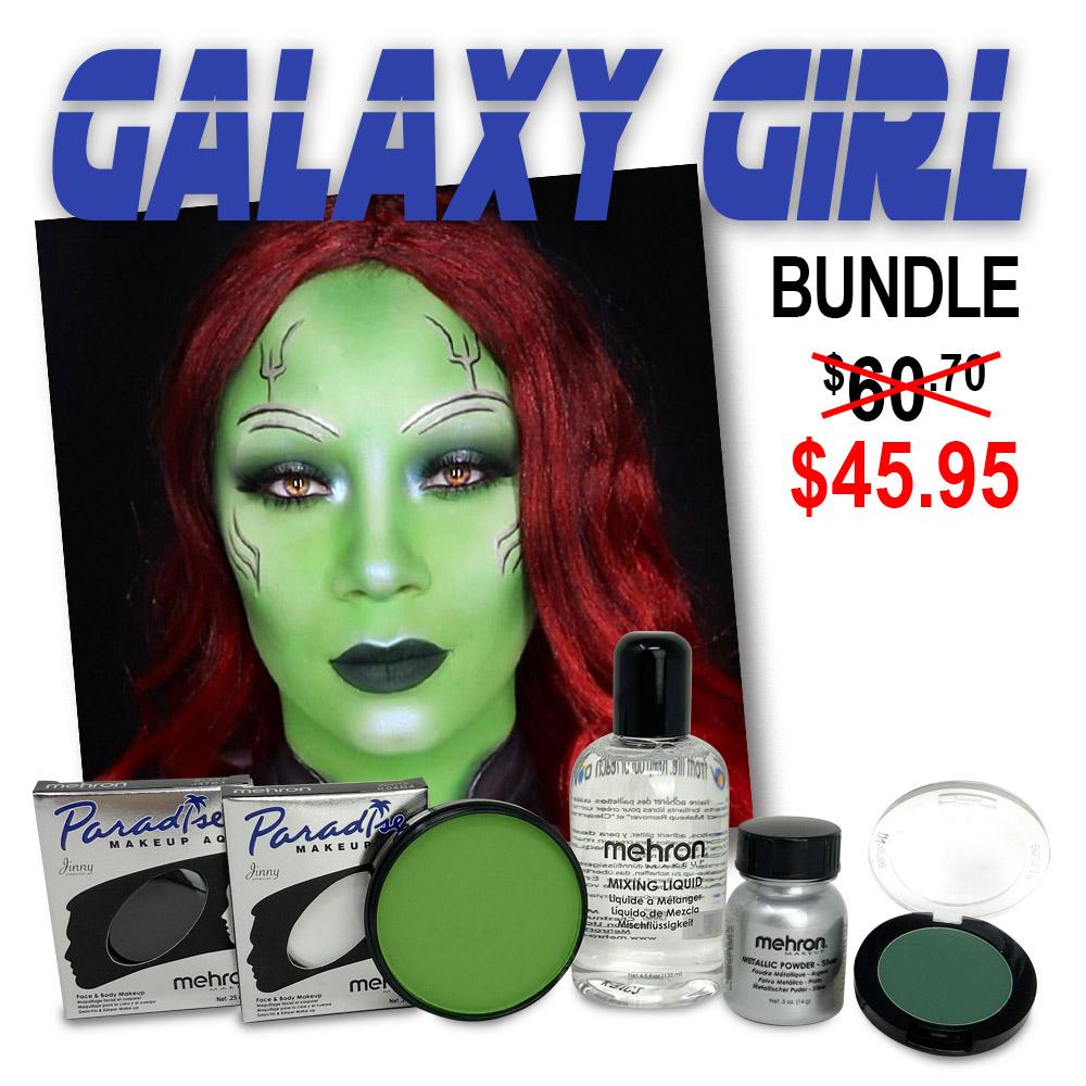 Gamora makeup look